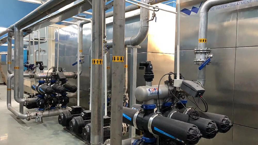 多灵全自动反冲洗过滤器在家庭饮用水中的应用
